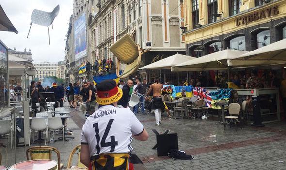 مشجعون ألمان متورطون في اعمال عنف خلال يورو 2016