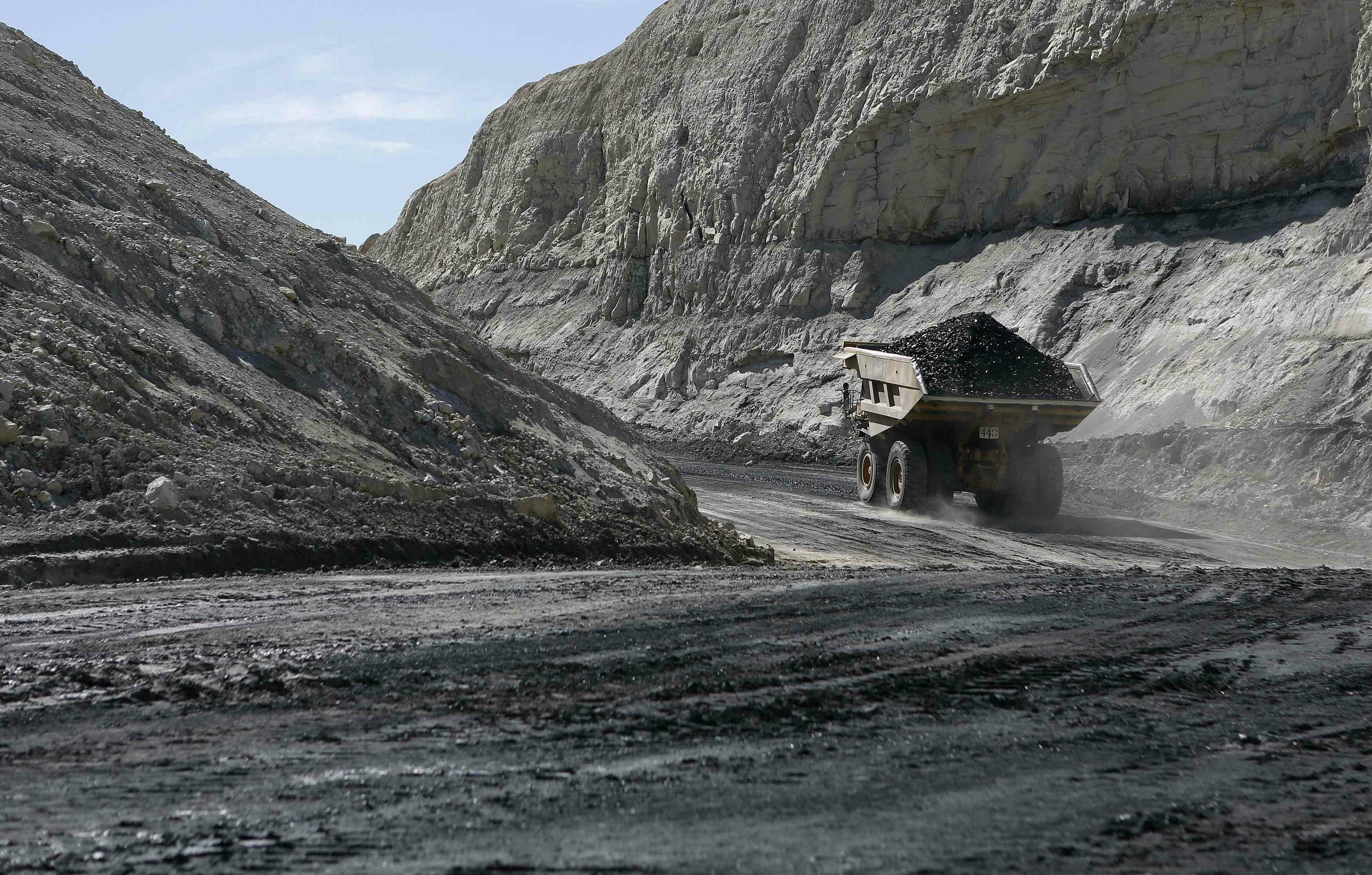 Coal isn't dying because there's a war on it