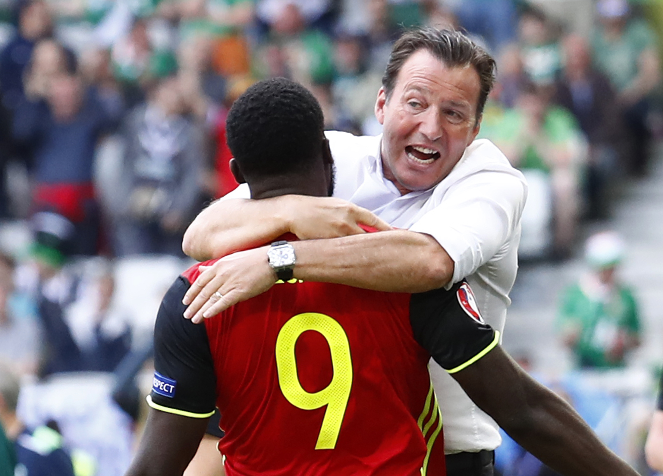 Euro 2016: Belgium coach Wilmots 'bluffed' over team selection