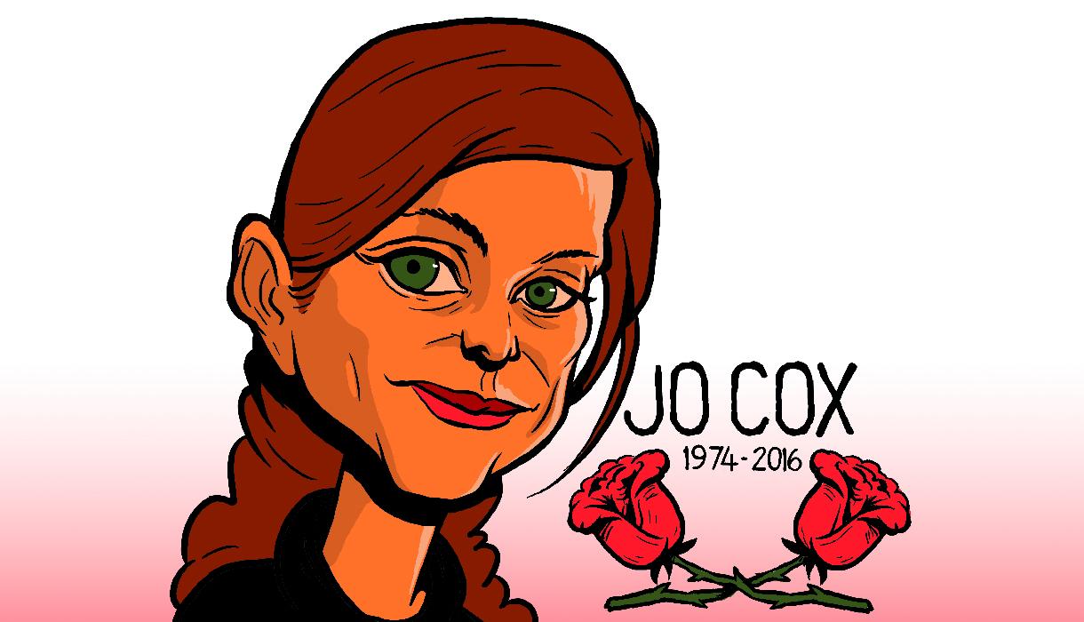 Tribute to Labour Party MP Jo Cox