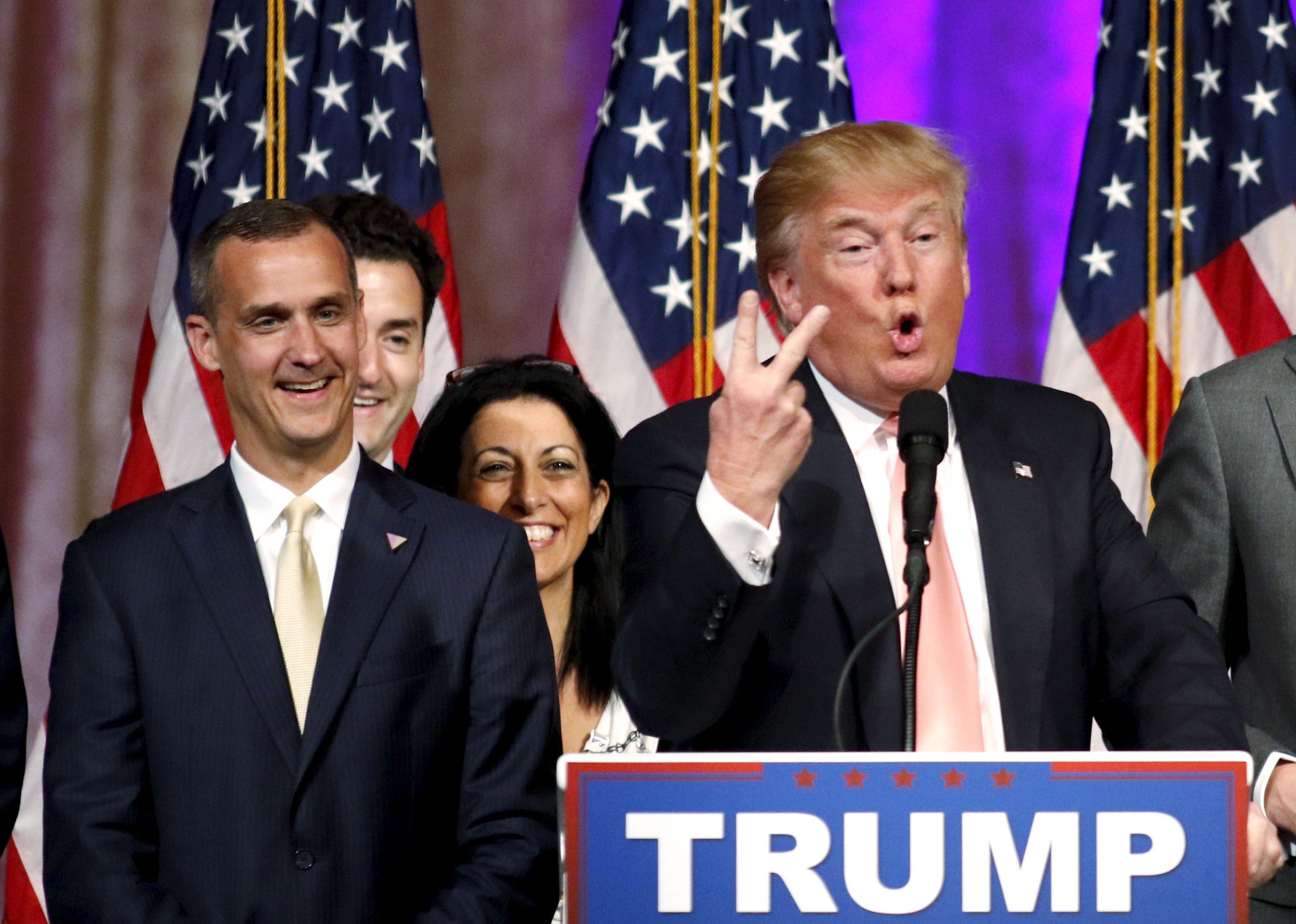 Trump fires campaign manager Lewandowski, taps Manafort as successor