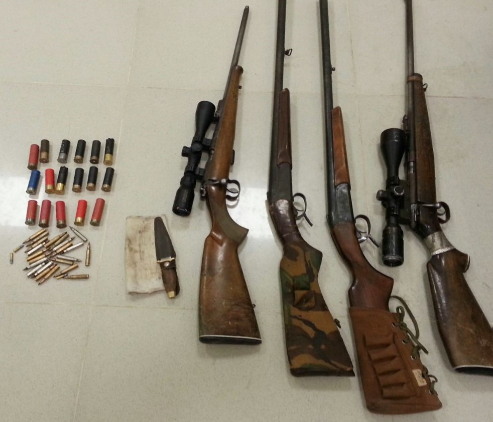 Two hunters arrested in Oman