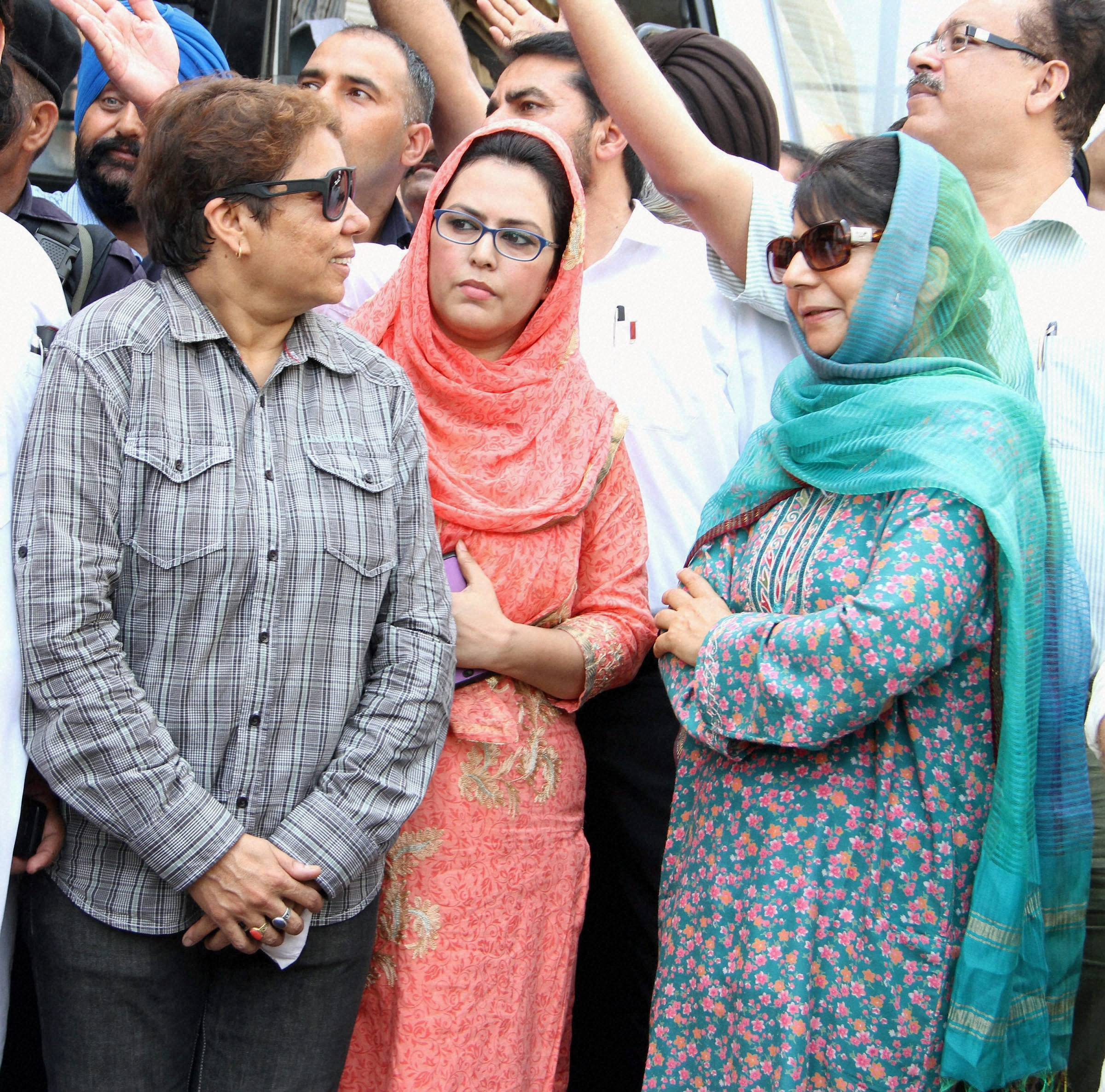 Mehbooba wins Anantnag assembly bypoll