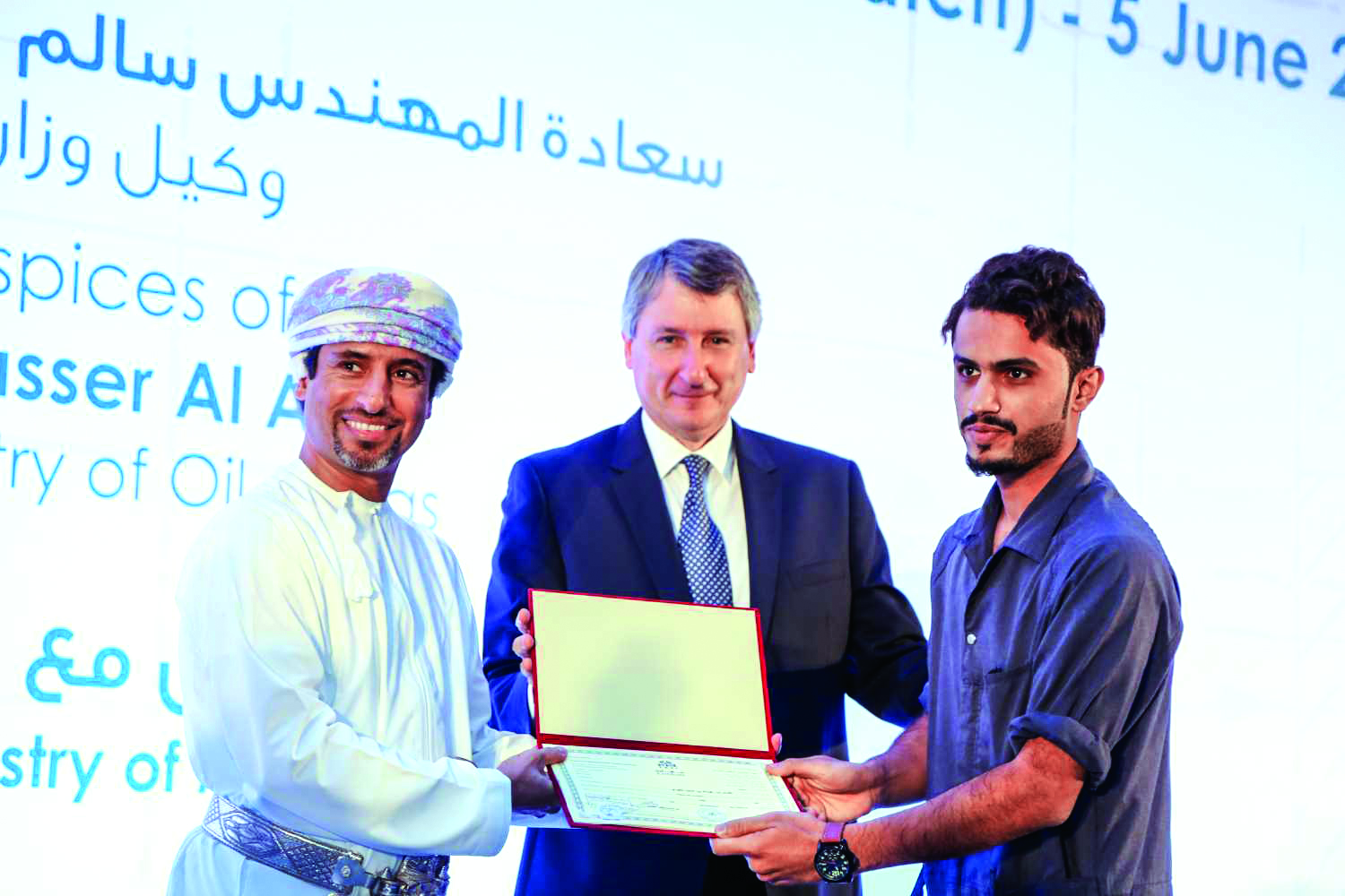 Record number of Omanis graduate from PDO