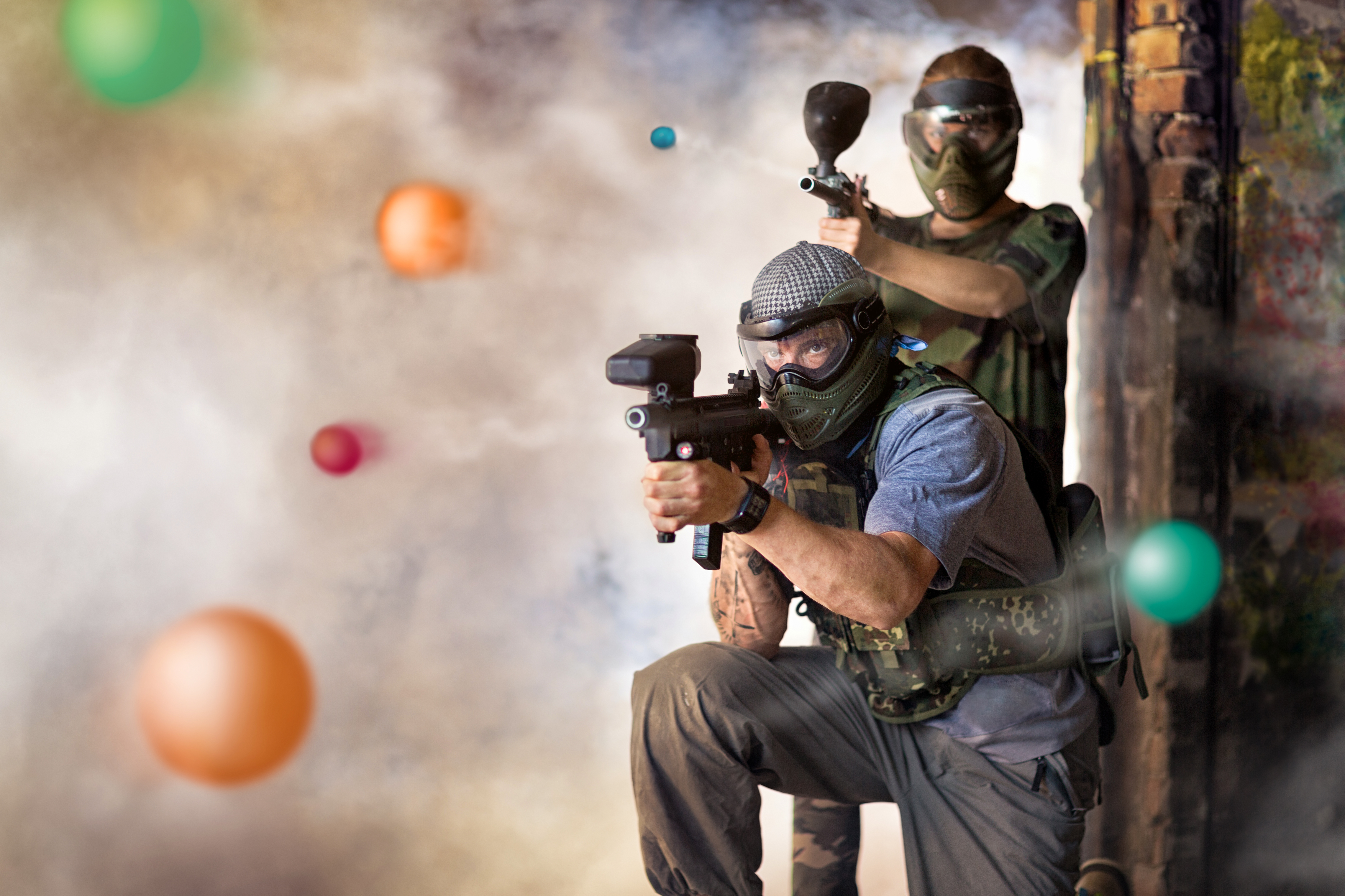 The Game of Paintball in Muscat