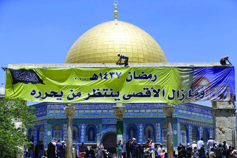 الفلسطينيون يشدّون الرحال للأقصى