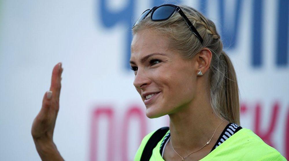 سفيرة واحدة فقط لروسيا في ألعاب القوى باولمبياد ريو