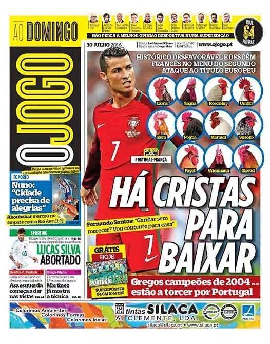 صحيفة برتغالية: رونالدو جاهز لقطع رؤوس الديوك