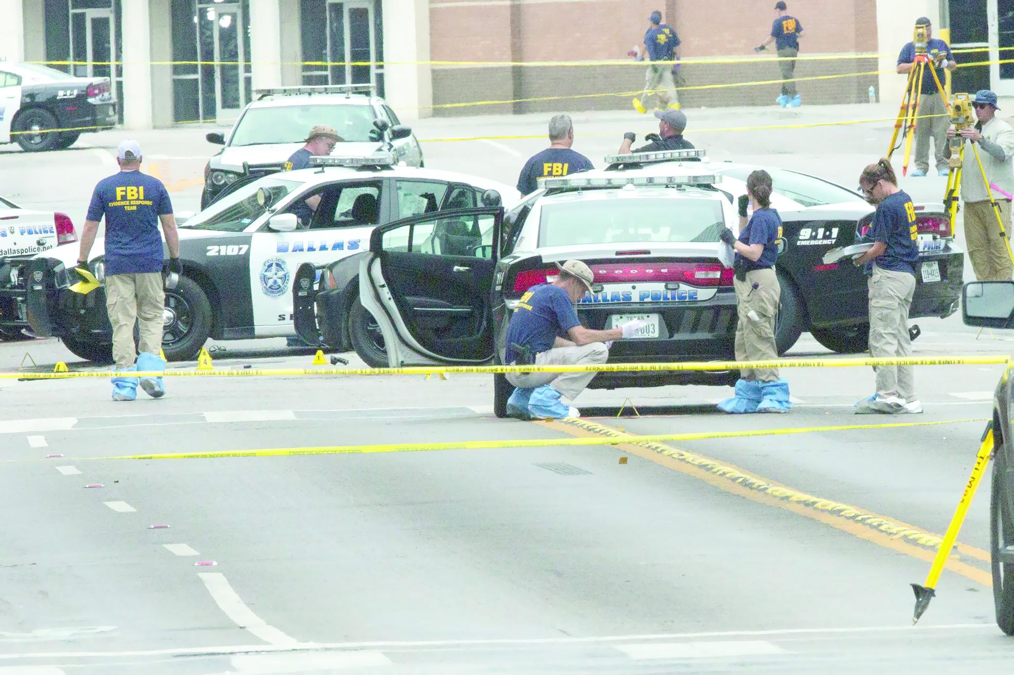 مهاجم دالاس حيَّرَ الشرطة