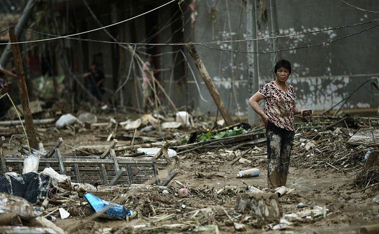"""إعصار """" نيبارتاك """" يسفر عن مقتل وفقدان 21 شخصا شرقي الصين"""