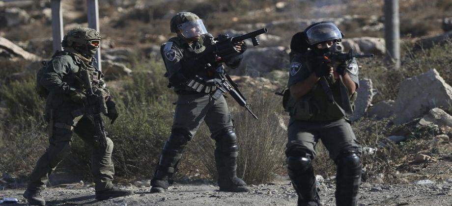 اصابة شاب فلسطيني بنيران الاحتلال في القدس