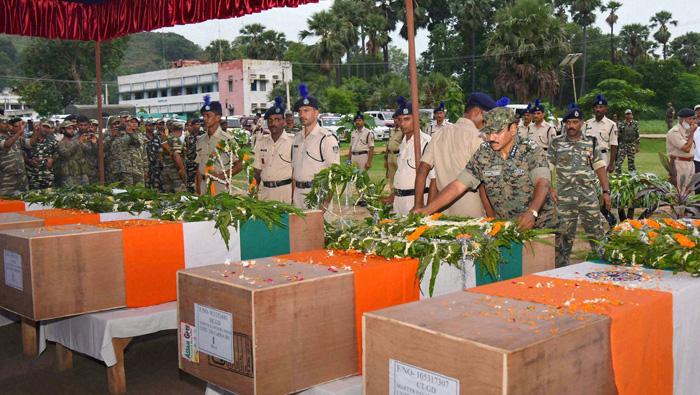Ten CRPF commandos dead in Naxal ambush in Bihar