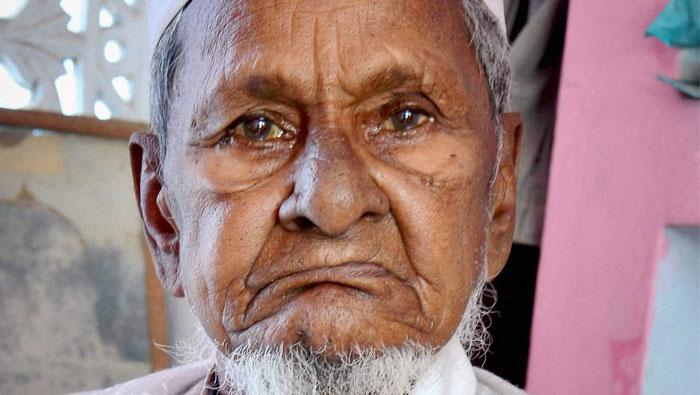 Hashim Ansari, oldest litigant in Ayodhya dispute, dies