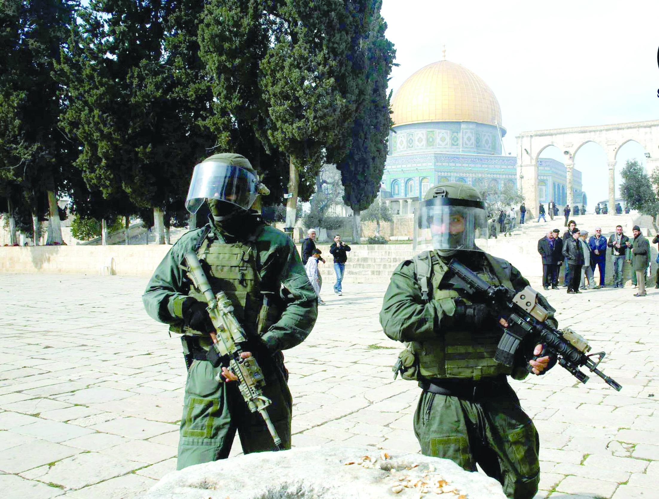 تقرير إخباري:خطة لبناء 770 وحدة استيطانية جديدة في القدس الشرقية ومستوطنون يسـتأنفون اقتحام الأقصى
