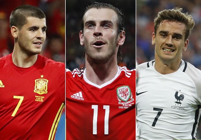 كأس اوروبا 2016: الهدافون