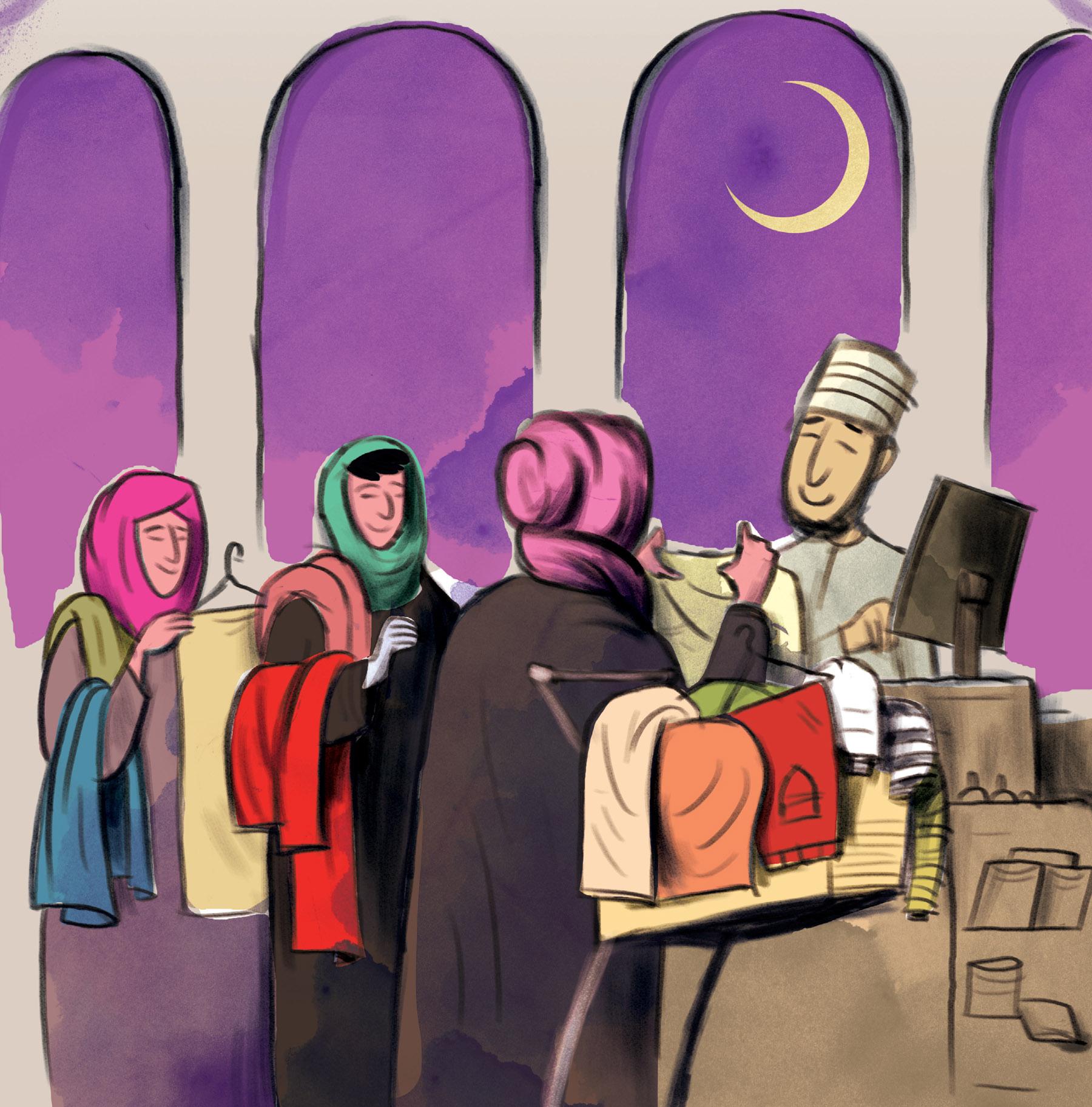 متى يفضّل العمانيون الاستعداد للعيد