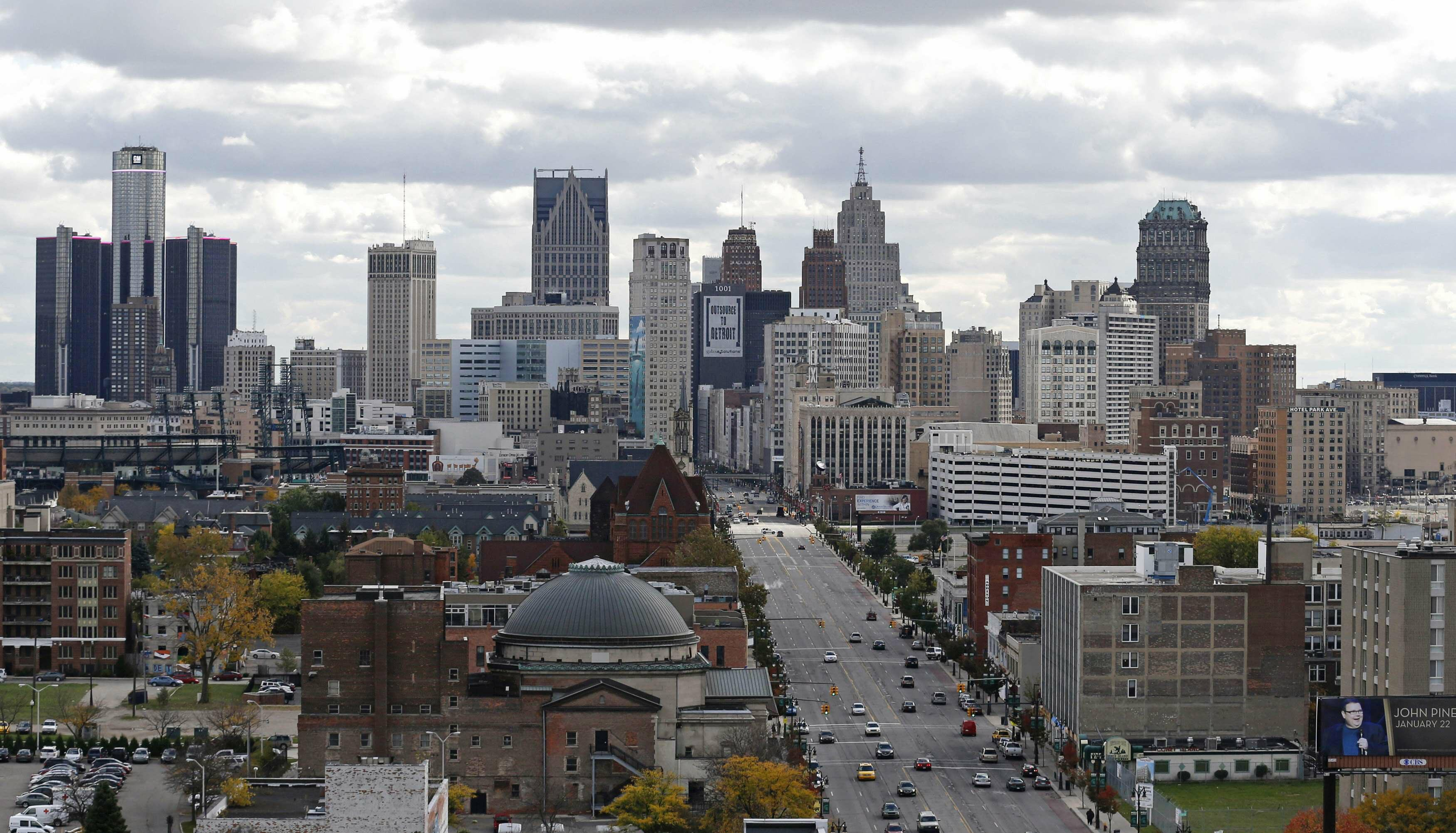 Trump's fairy tale about the fall of Detroit