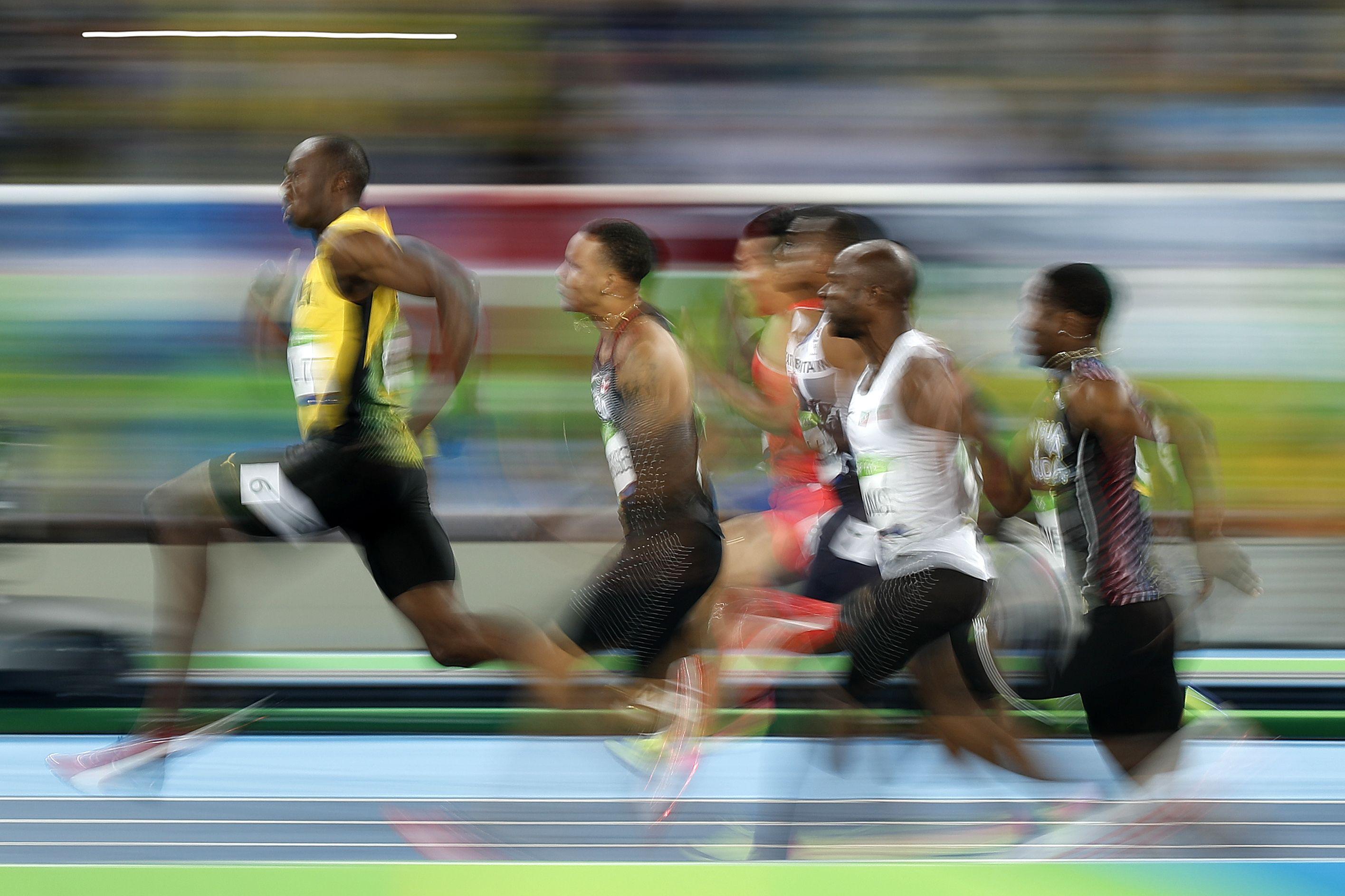 Olympics: Imperious Bolt completes amazing 100m treble