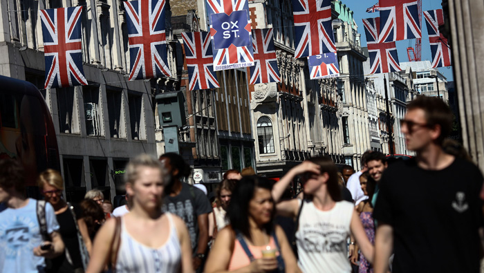 UK inflation expectations climb after July data