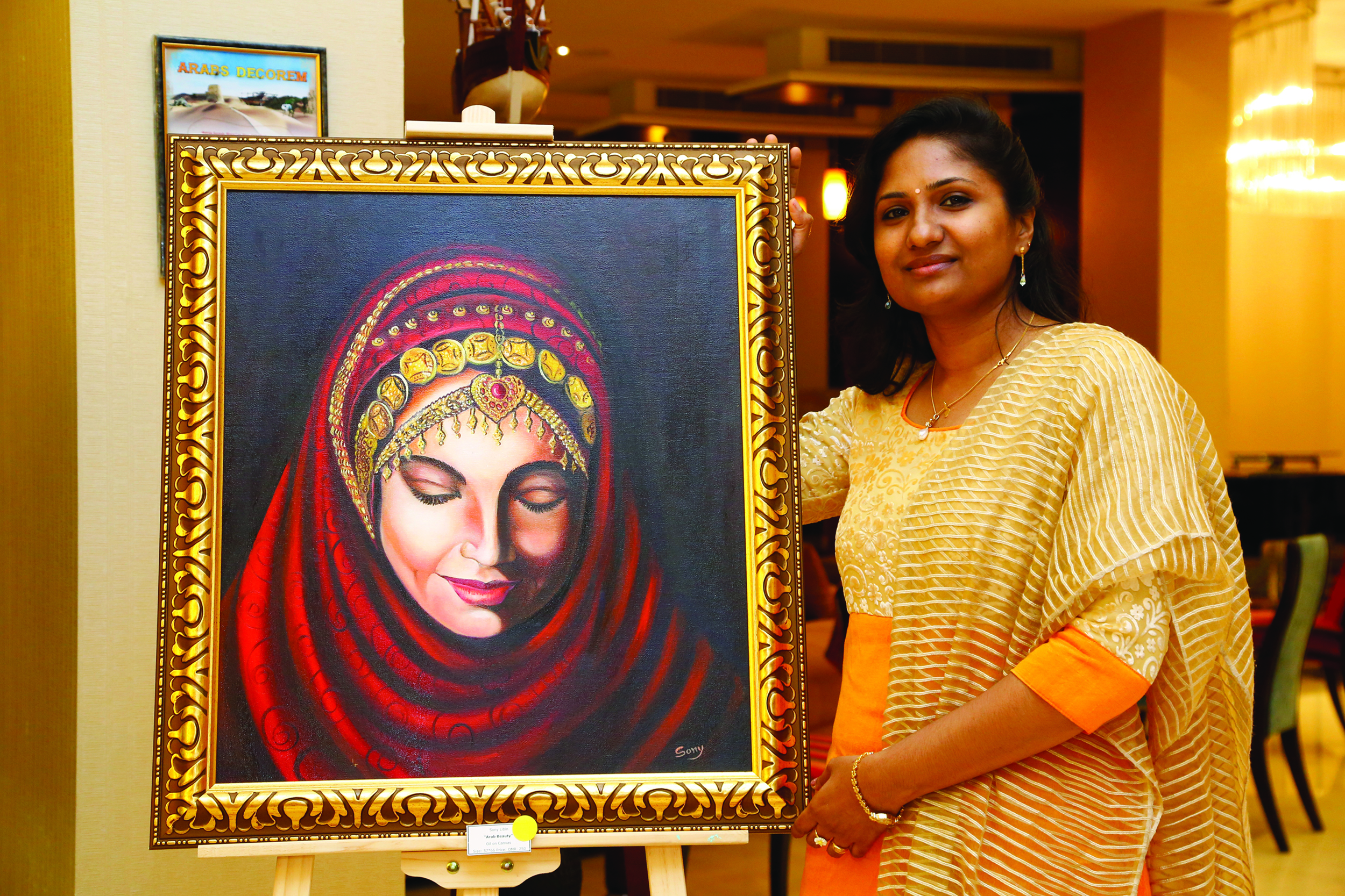 Meet Sony Libin, the passionate painter in Oman