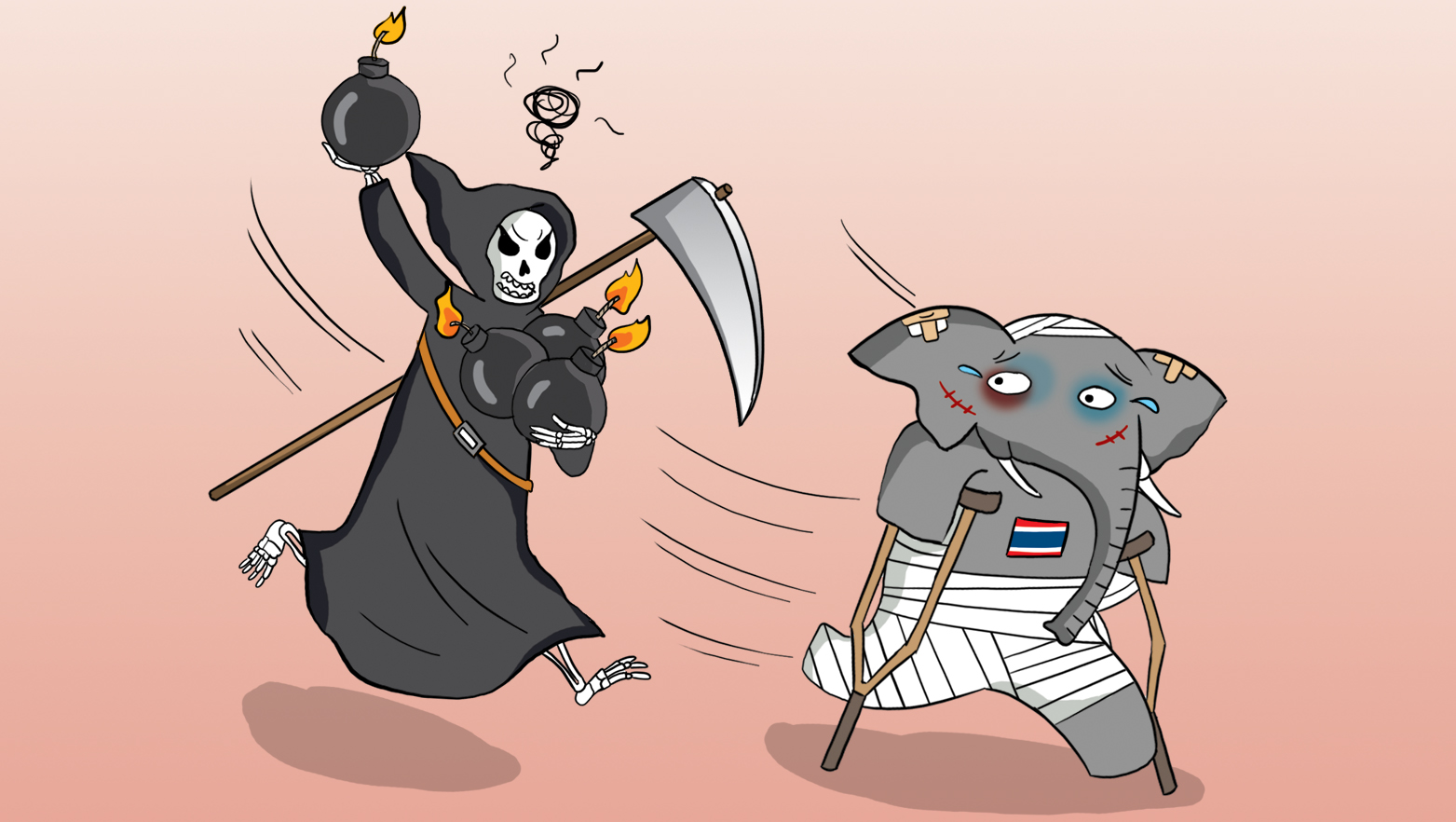 Thailand blasts