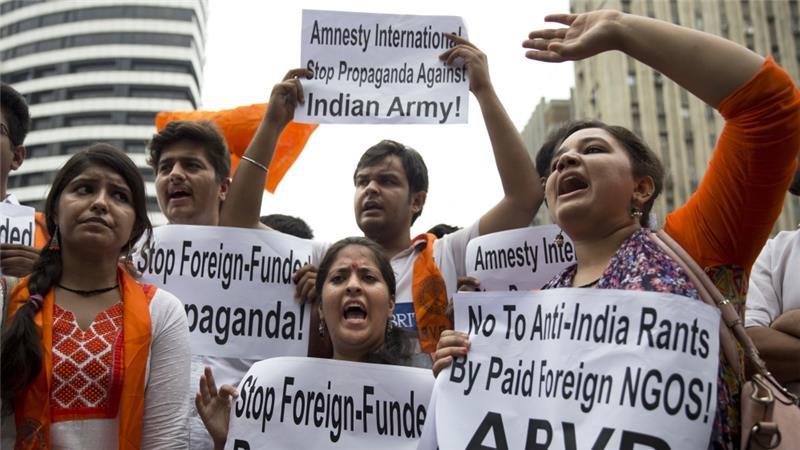 منظمة العفو الدولية تغلق مكاتبها مؤقتاً في الهند