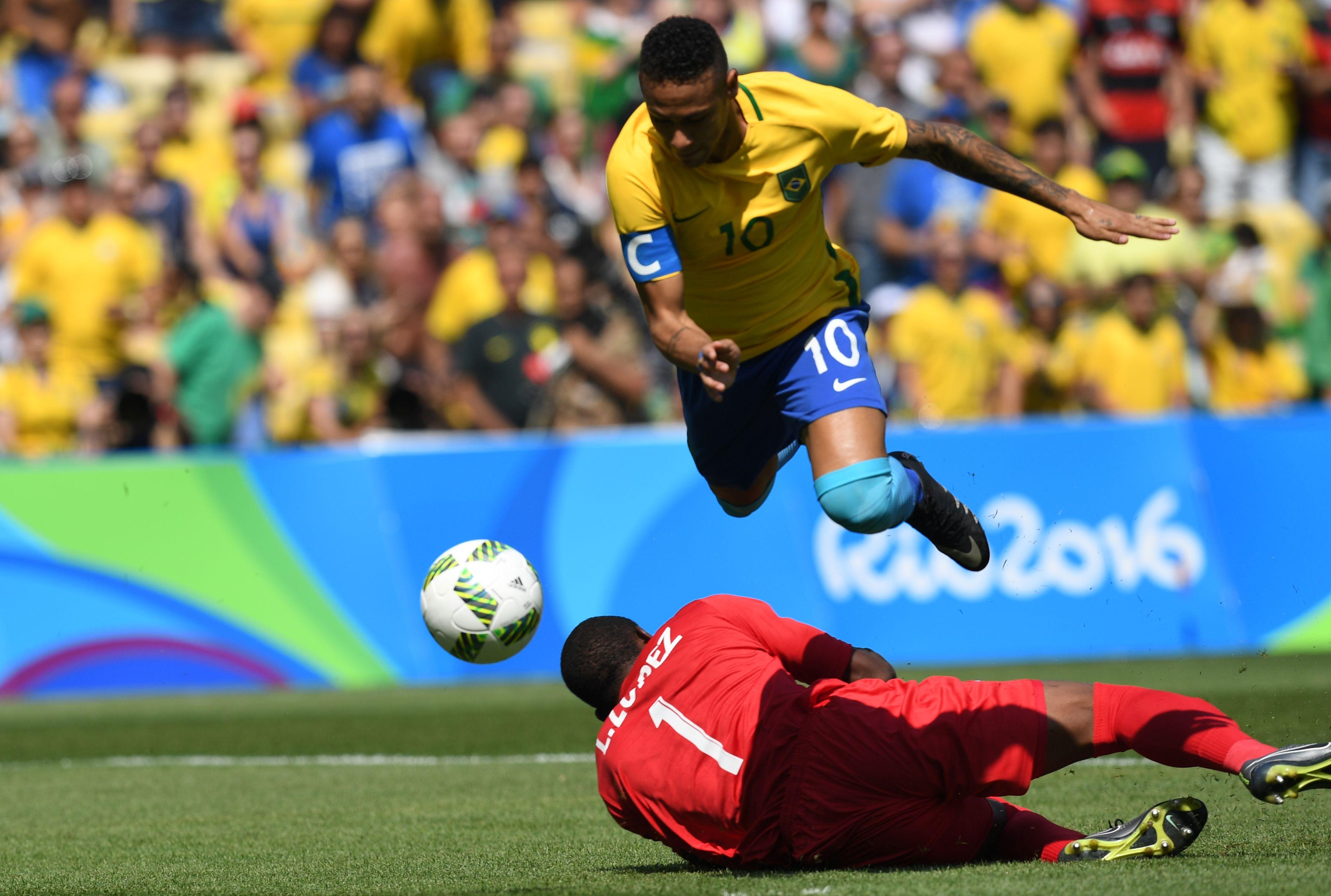 نيمار يقود البرازيل في نهائي الثأر والذهب أمام ألمانيا بأولمبياد ريو