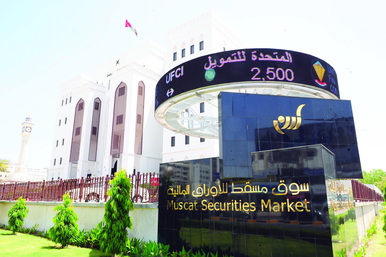 تراجع طفيف لسوق مسقط بنسبة 0.08 %