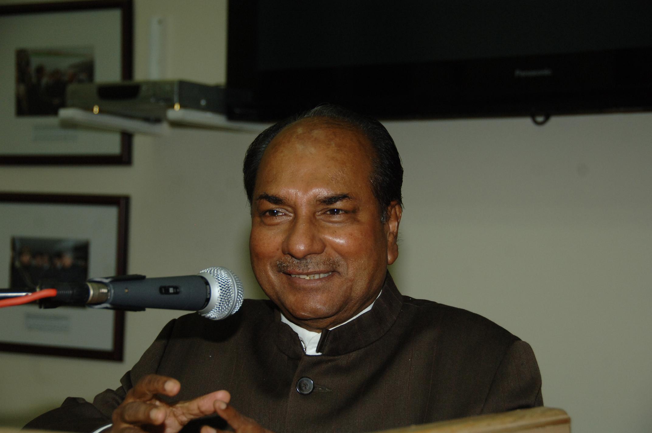 Congress losing mass base in Kerala due to infighting: Antony