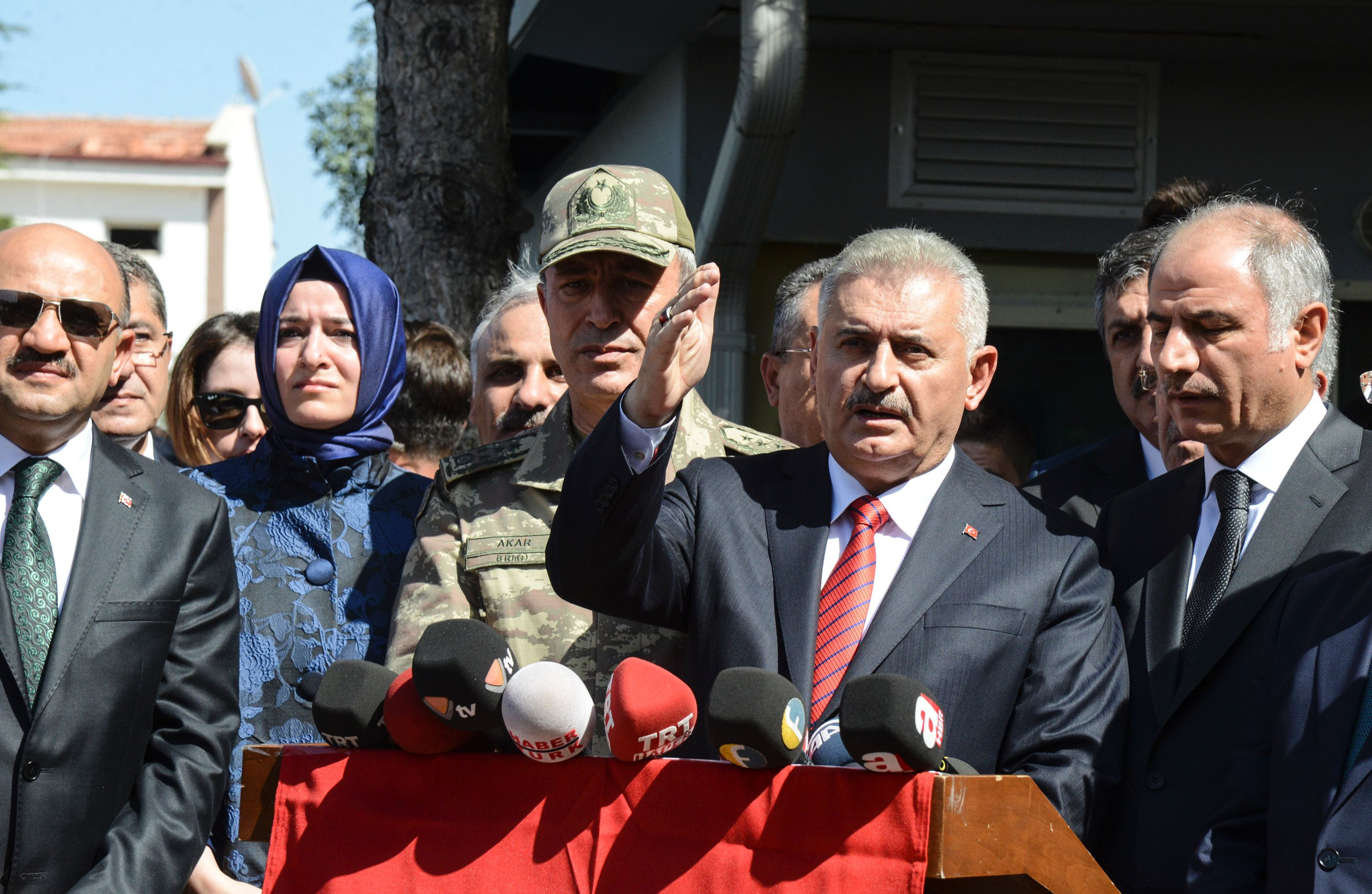 Turkey to take more active role on Syria in next six months, PM says