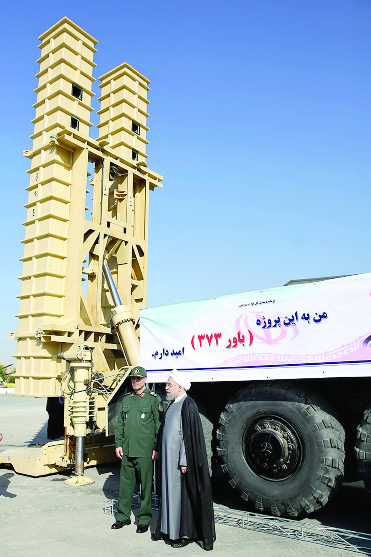 ايران تعرض للمرة الاولى صورا لمنظومتها الجديدة للدفاع الصاروخي