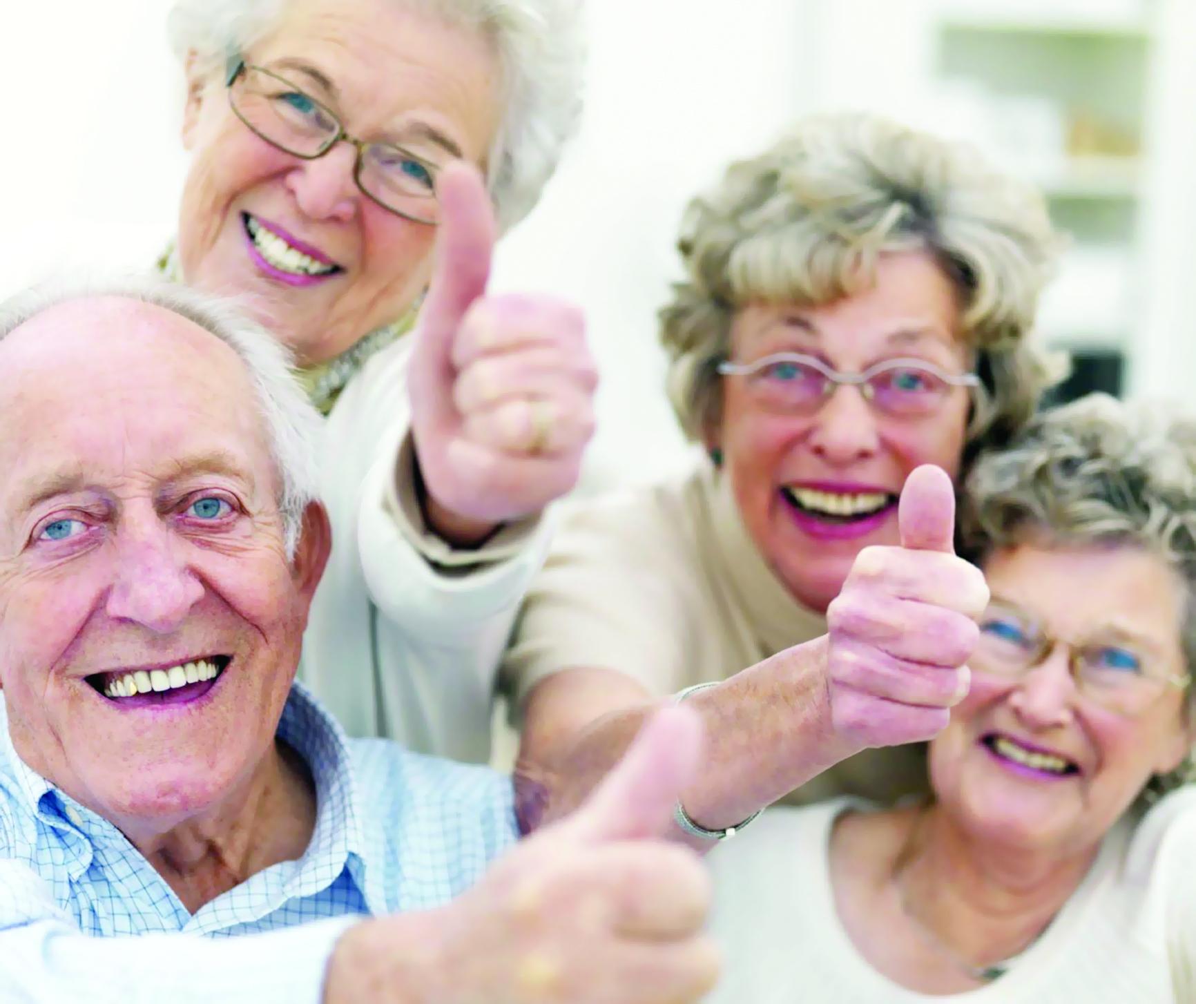 كبار السن الإيجابيون يتكيفون مع التوترات
