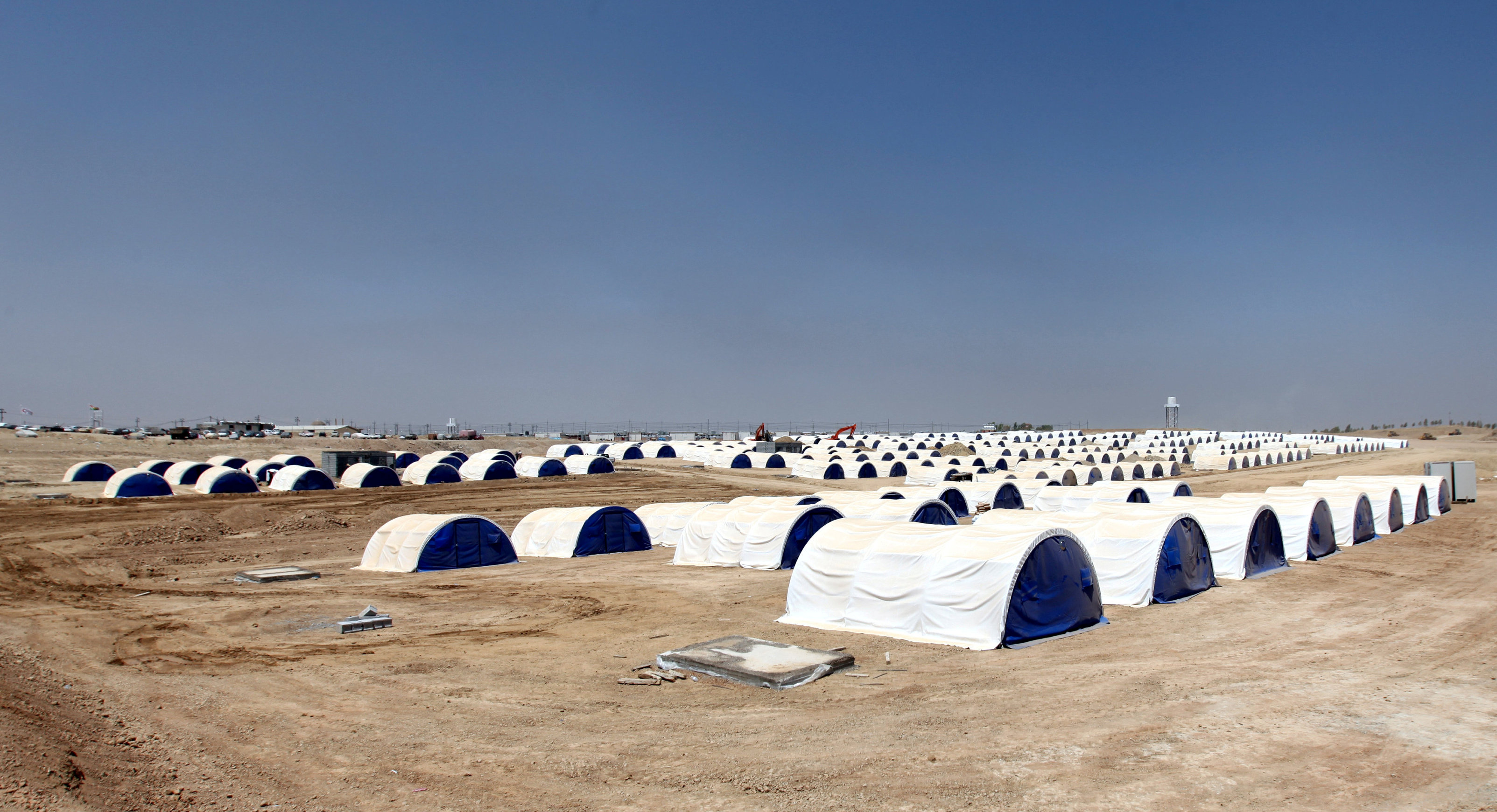 UN readies for refugee exodus from Iraq's Mosul