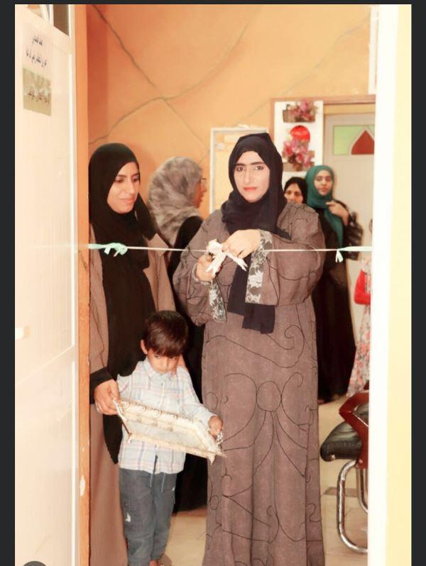 افتتاح معرض ركن الطفل بجمعية المرأة العمانية بسمائل