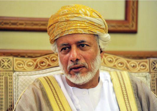 يوسف بن علوي يلتقي مبعوث الأمين العام للأمم المتحدة الى اليمن
