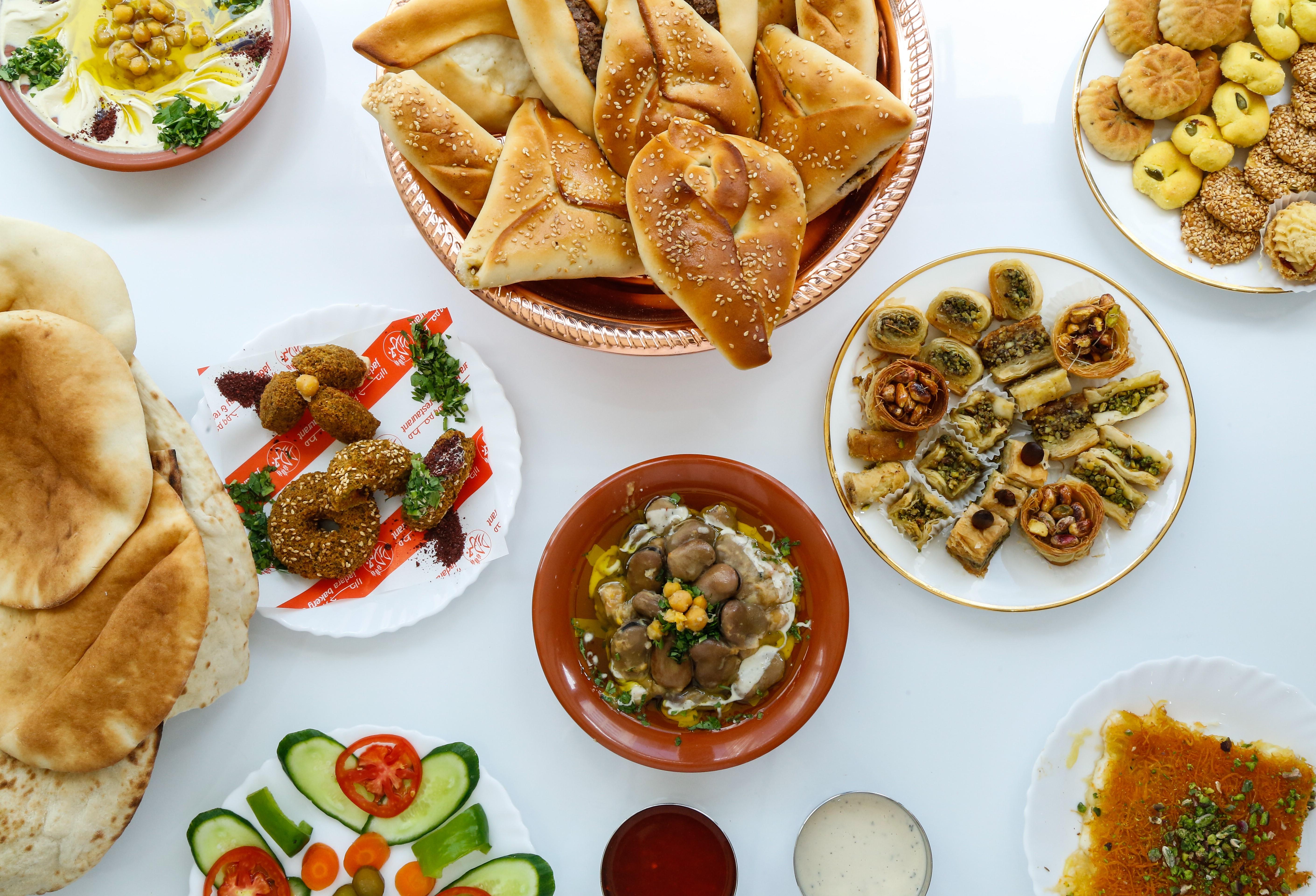 Best Jordanian Food at Jadara Restaurant in Muscat