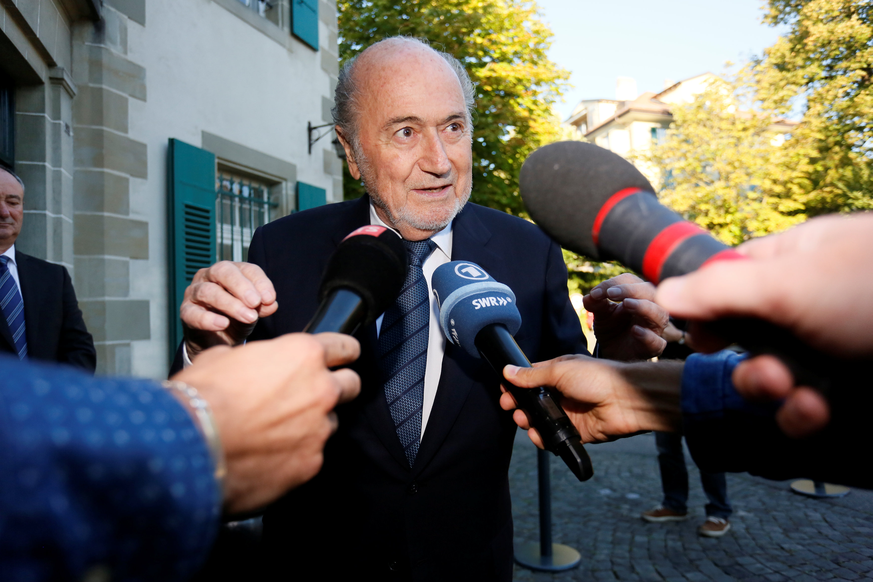 Football: Former FIFa president Blatter appears at CAS for appeal against ban