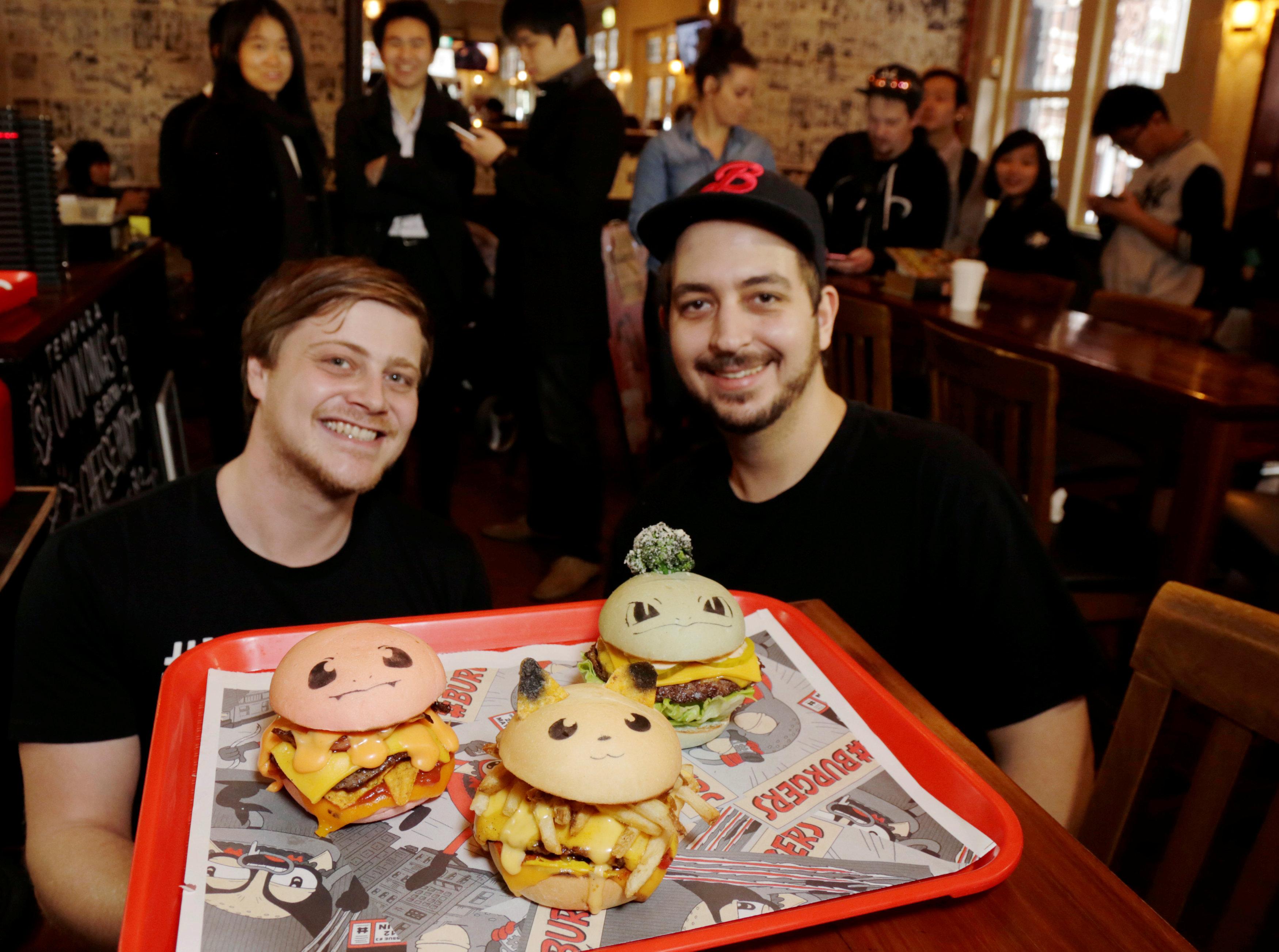 Sydney restaurant launches Pokemon burgers