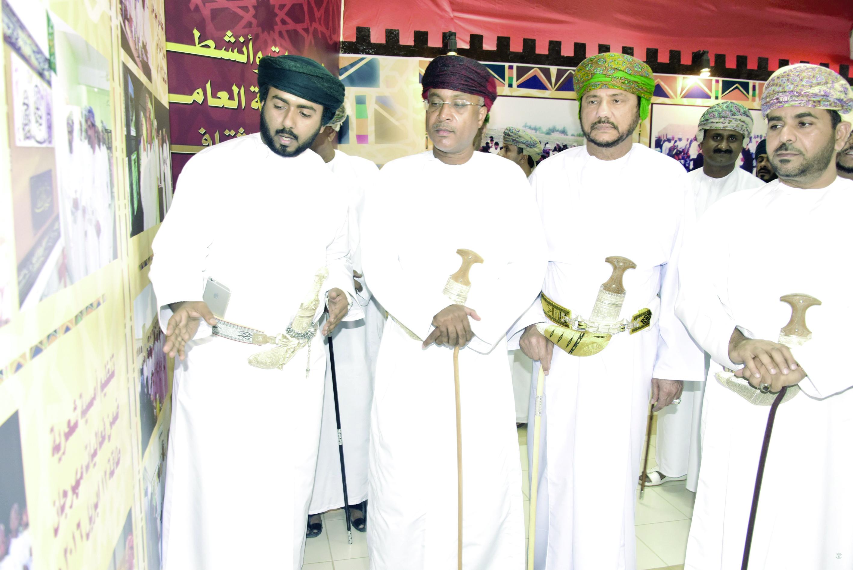افتتاح معرض عمان عبر العصور بمـركــز البـلـديـة التــرفـيـهي