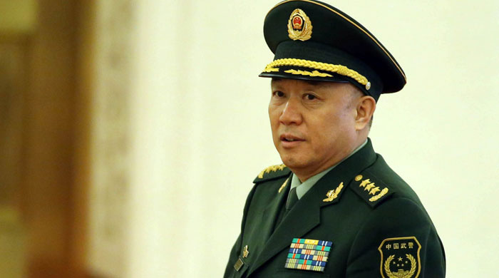 Senior Chinese general arrested for corruption