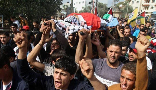 استشهاد شاب فلسطيني في رام الله