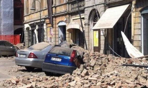 زلزال إيطاليا يصيب 293 موقعاً ثقافياً