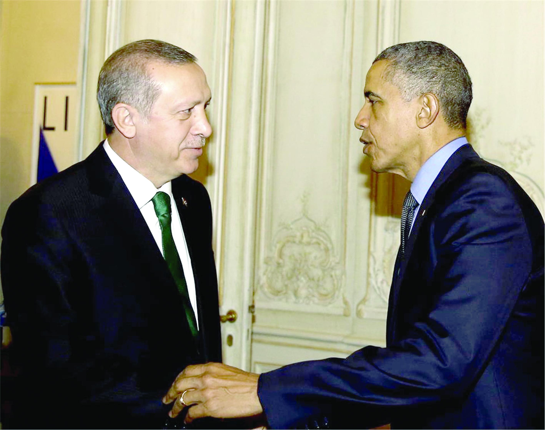 مساع امريكية لتلطيف العلاقات مع تركيا