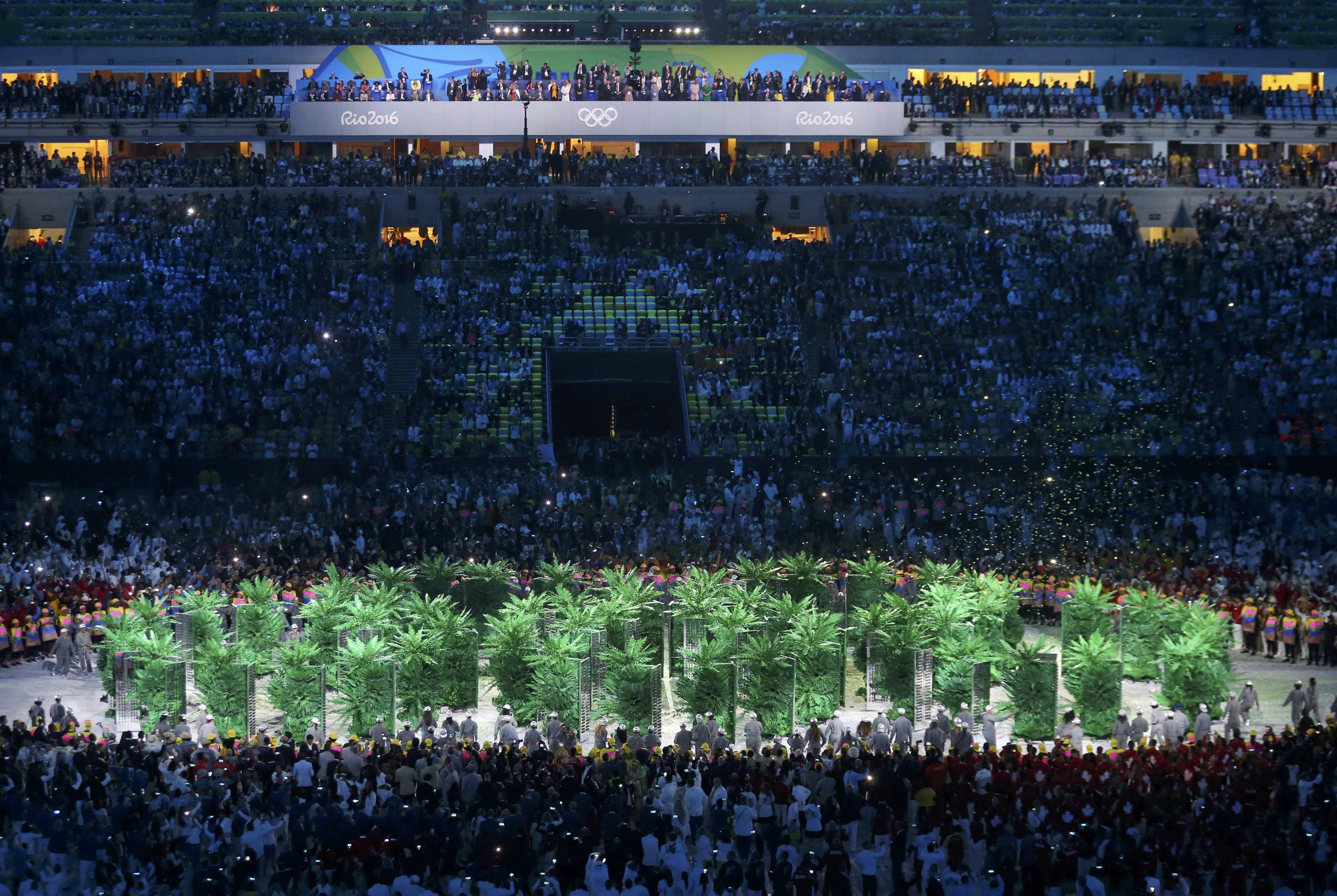 Rio kicks off 2016 Olympics