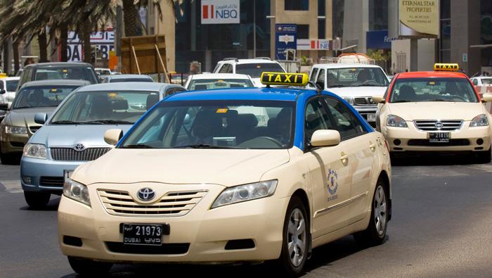 Taxis in Dubai to promote Kerala Tourism