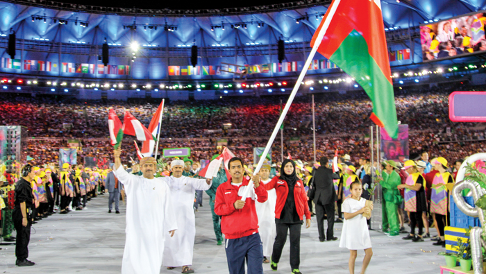 Olympics 2016: Oman takes part in the opening event at Rio