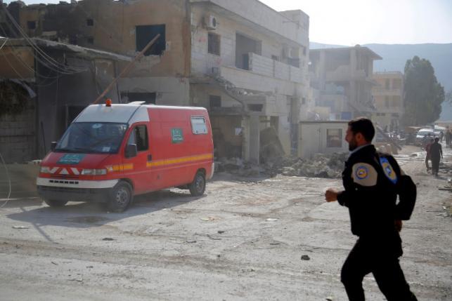 Air strike on Syrian hospital kills 10 - Observatory