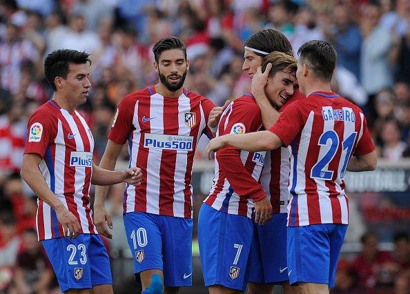 أتلتيكو مدريد يدق حصون خيخون بالخمسة