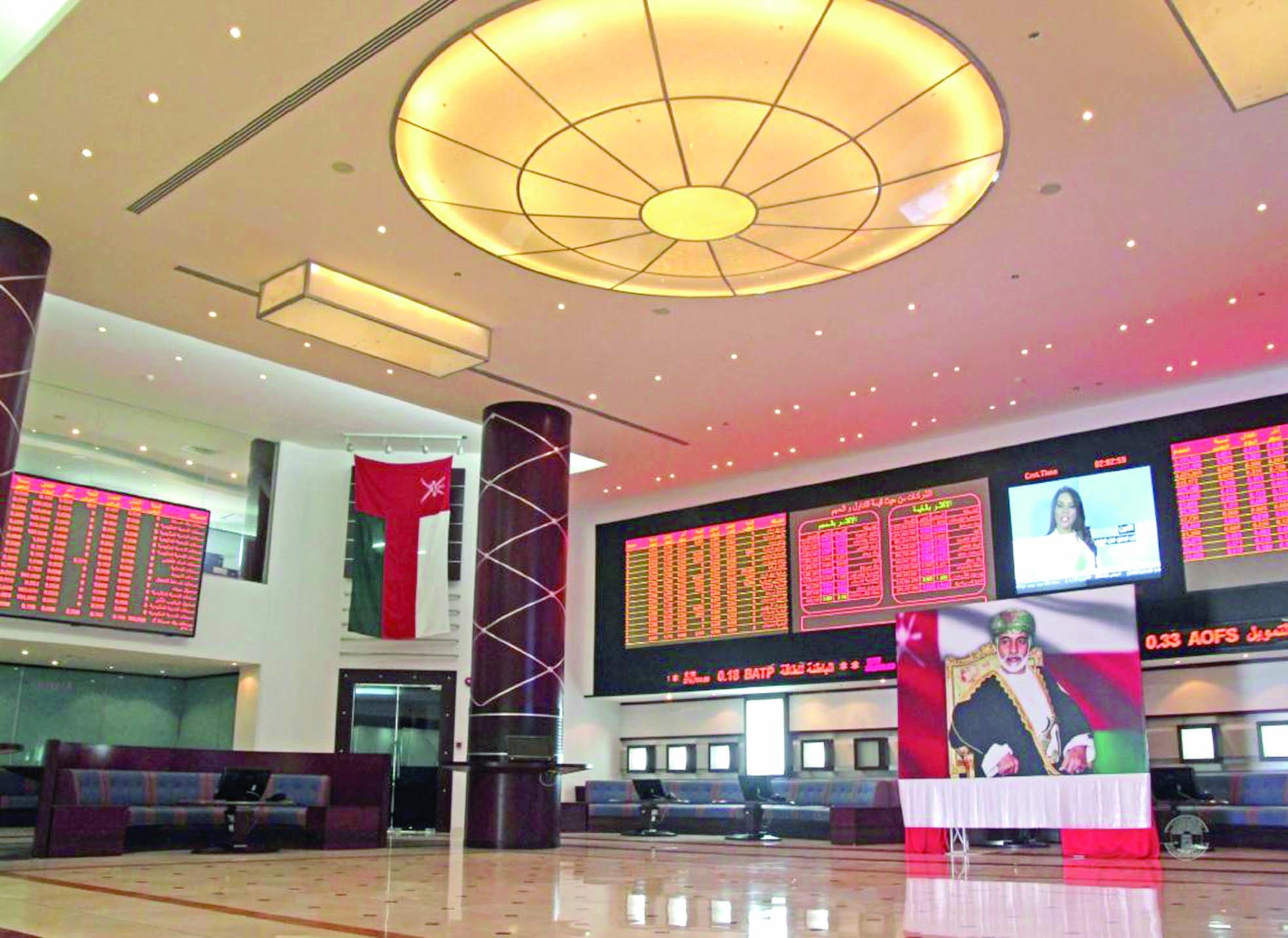 سوق مسقط يتراجع 10 نقاط مع ضعف الإقبال على التداول