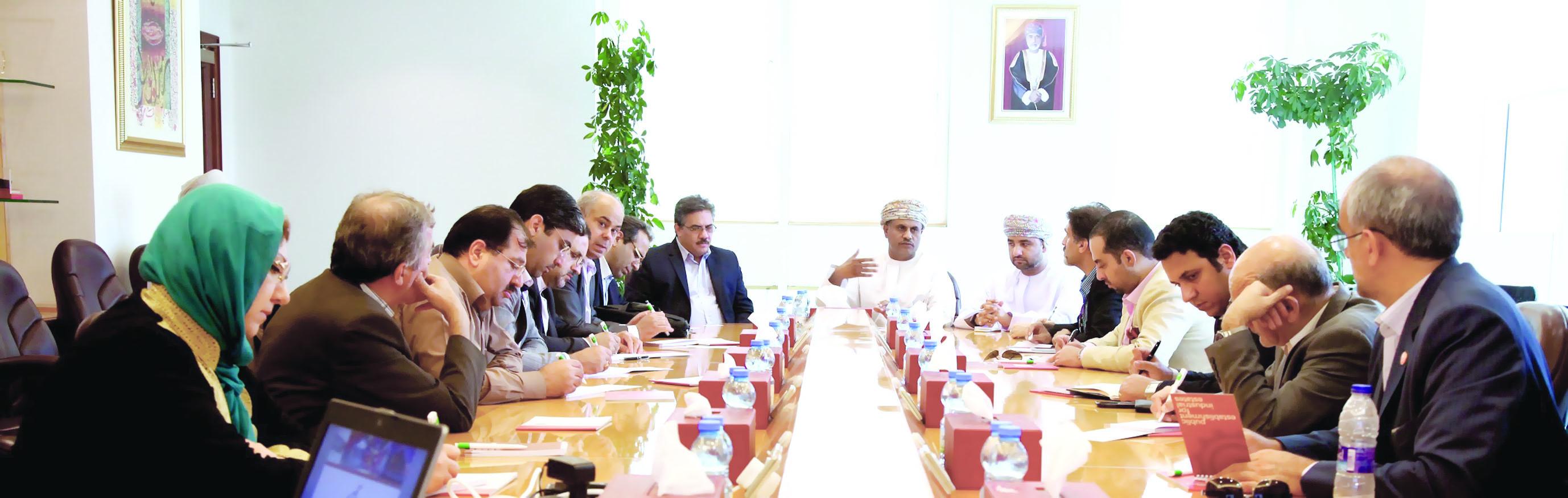 وفد إيراني يطّلع على الفرص الاستثمارية في المؤسسة العامة للمناطق الصناعية